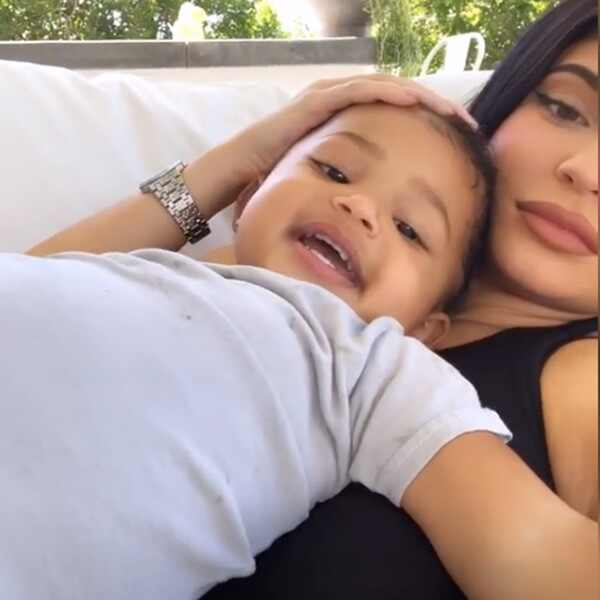 Stormi Webster, Kylie Jenner, Instagram